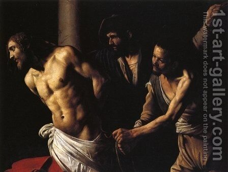 Flagellation of Christ 2 by Caravaggio - Reproduction Oil Painting