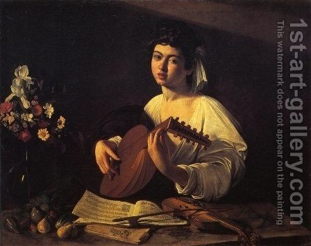 The Lute-Player by Caravaggio - Reproduction Oil Painting