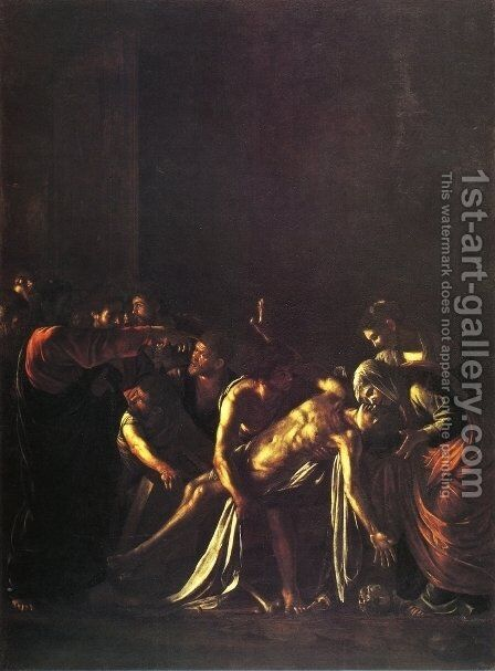 The Raising of Lazarus by Caravaggio - Reproduction Oil Painting