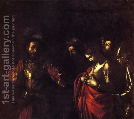 The Martyrdom of St. Ursula by Caravaggio - Reproduction Oil Painting
