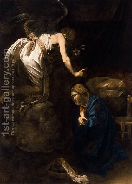 The Annunciation by Caravaggio - Reproduction Oil Painting