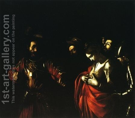 Martyrdom of St. Ursula by Caravaggio - Reproduction Oil Painting