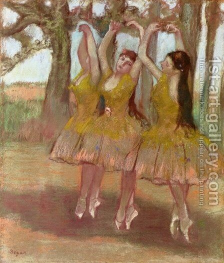 A Grecian Dance by Edgar Degas - Reproduction Oil Painting