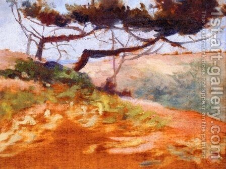 The Bay of Cavalieri by Henri Edmond Cross - Reproduction Oil Painting