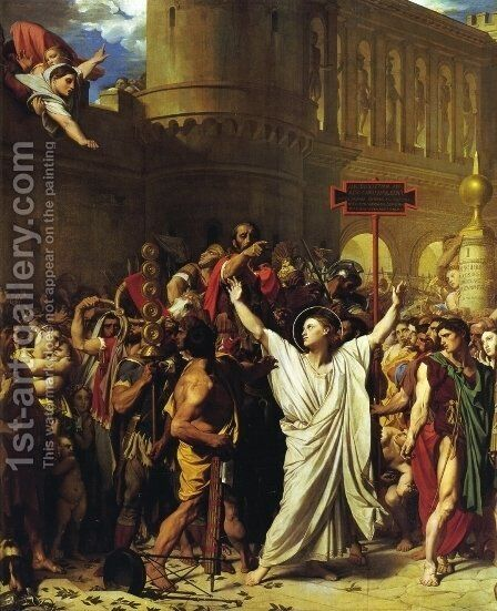 The Martyrdom of St. Symphorian by Jean Auguste Dominique Ingres - Reproduction Oil Painting