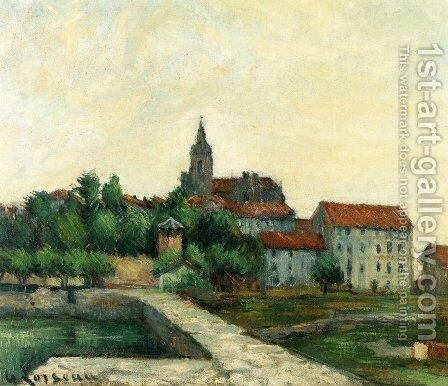 Landscape I by Gustave Loiseau - Reproduction Oil Painting