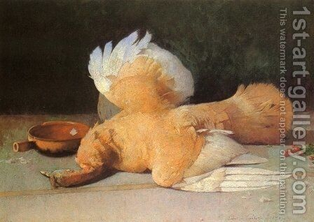 Still Life with Dead Game by Emil Carlsen - Reproduction Oil Painting