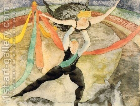 The Circus by Charles Demuth - Reproduction Oil Painting