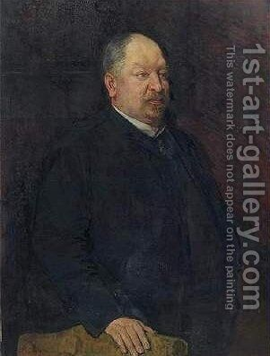 Portrait of Mr. Camille Laurent by Theo van Rysselberghe - Reproduction Oil Painting