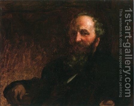 Portrait of James G. Wilson by Eastman Johnson - Reproduction Oil Painting