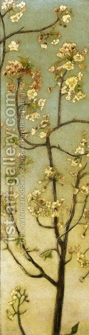 Blossoming White Branches by Charles Caryl Coleman - Reproduction Oil Painting