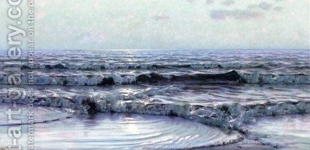 Seascape by Alexander Thomas Harrison - Reproduction Oil Painting