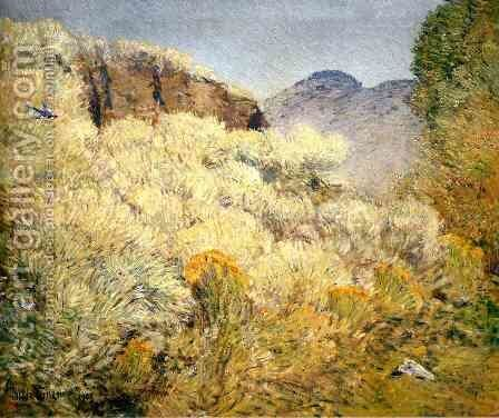 Harney Desert I by Frederick Childe Hassam - Reproduction Oil Painting