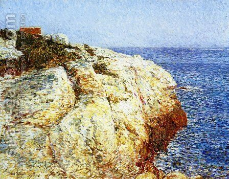 Northeast Headlands, Appledore by Frederick Childe Hassam - Reproduction Oil Painting
