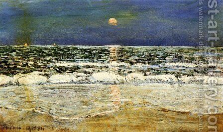 East Hampton by Frederick Childe Hassam - Reproduction Oil Painting