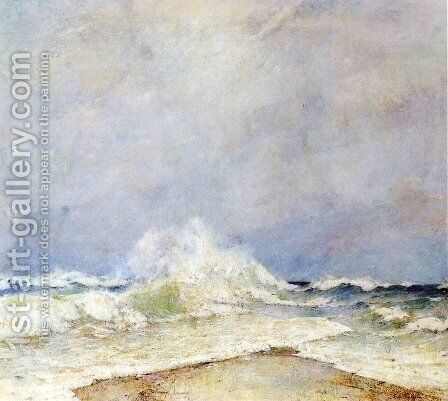 Meeting of the Two Seas by Emil Carlsen - Reproduction Oil Painting