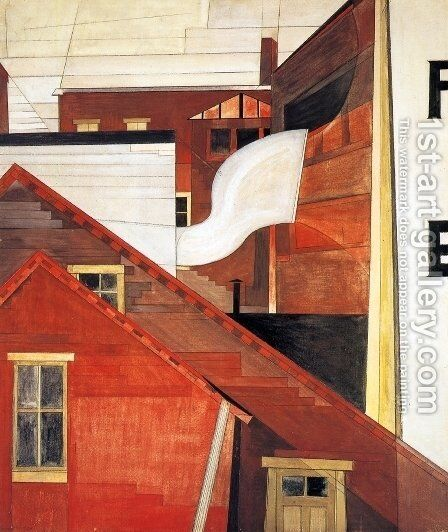 In the Province by Charles Demuth - Reproduction Oil Painting