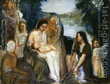 Moses by Armando Spadini - Reproduction Oil Painting