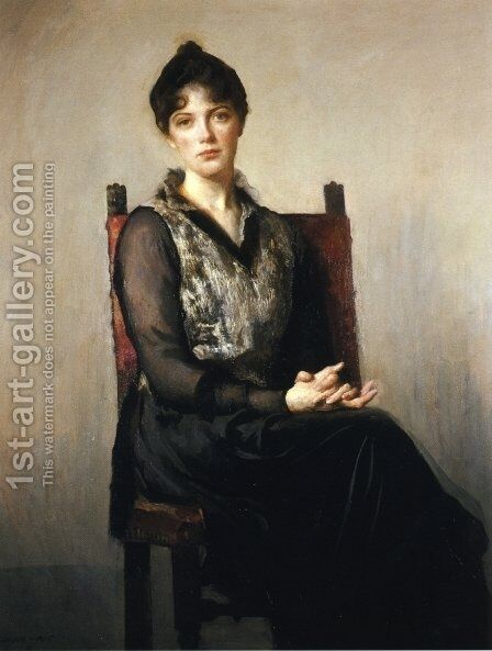 My Daughter Josephine by Edmund Charles Tarbell - Reproduction Oil Painting