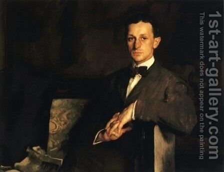 Dr. Harvey Cushing by Edmund Charles Tarbell - Reproduction Oil Painting