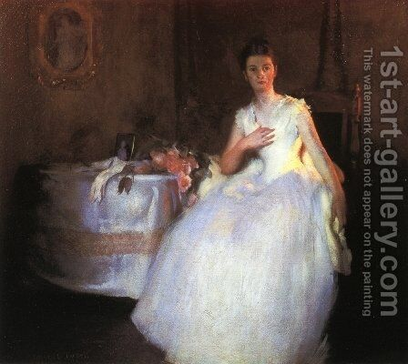 After the Ball by Edmund Charles Tarbell - Reproduction Oil Painting