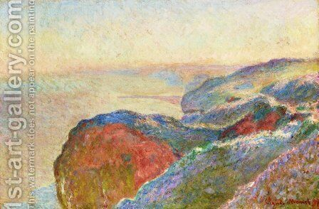 At Val Saint-Nicolas near Dieppe, Morning by Claude Oscar Monet - Reproduction Oil Painting