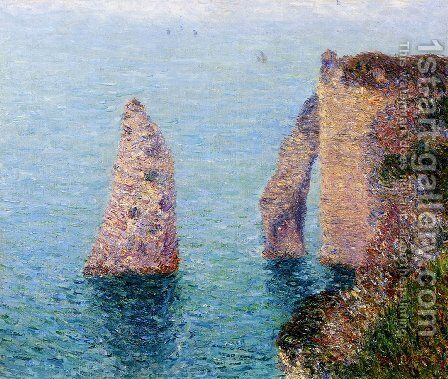 Etretat by Gustave Loiseau - Reproduction Oil Painting