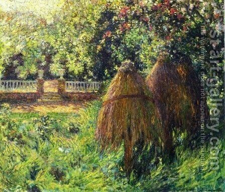 Hives, Gerberoy by Henri Eugene Augustin Le Sidaner - Reproduction Oil Painting