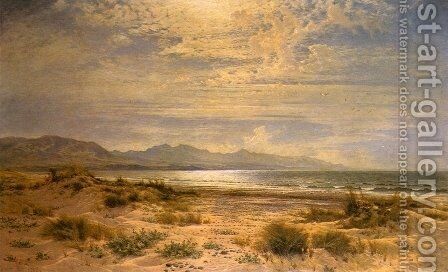 The Sands of Aberdovey by Benjamin Williams Leader - Reproduction Oil Painting