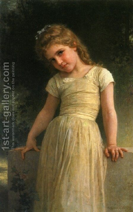 Elpieglerie by William-Adolphe Bouguereau - Reproduction Oil Painting