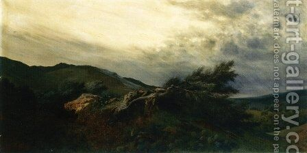 The Storm by Antonio Leto - Reproduction Oil Painting
