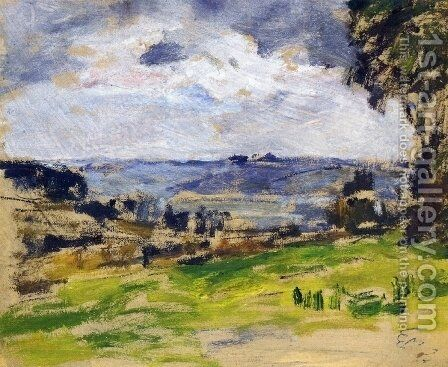 Landscape I by Eugène Boudin - Reproduction Oil Painting