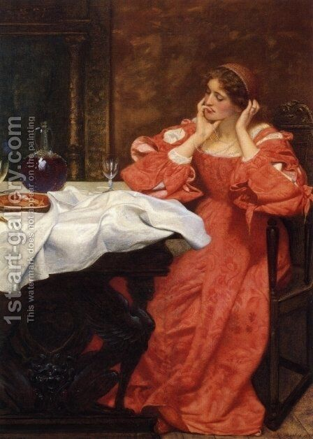 The Shrew Katherina by Edward Hughes - Reproduction Oil Painting