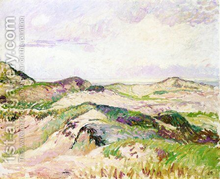 The Dunes at Knokke by Camille Pissarro - Reproduction Oil Painting