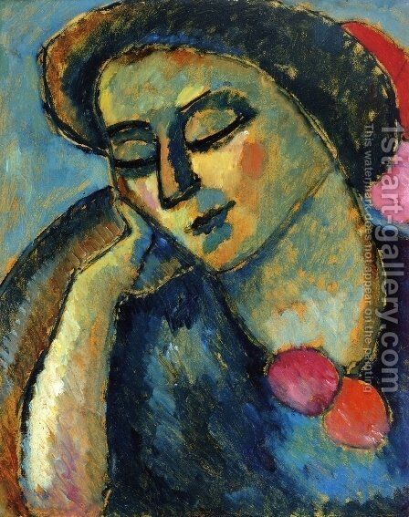Blasse Bluten by Alexei Jawlensky - Reproduction Oil Painting