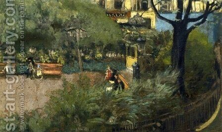 Square Berlioz by Edouard  (Jean-Edouard) Vuillard - Reproduction Oil Painting