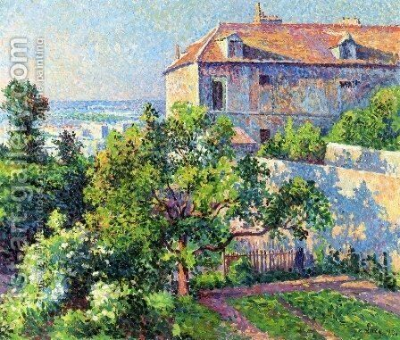 Montmartre, the House of Suzanne Valadon by Maximilien Luce - Reproduction Oil Painting