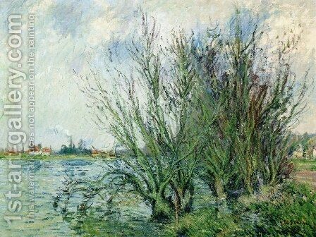 Willows, Banks of the Oise by Gustave Loiseau - Reproduction Oil Painting