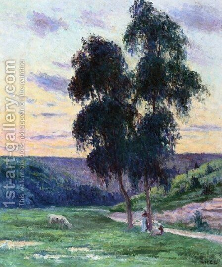 Bessy sur Cure by Maximilien Luce - Reproduction Oil Painting