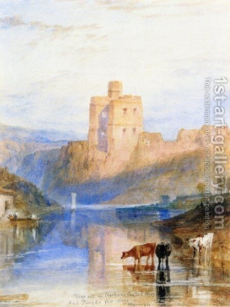 Norham Castle on the Tweed by Turner - Reproduction Oil Painting