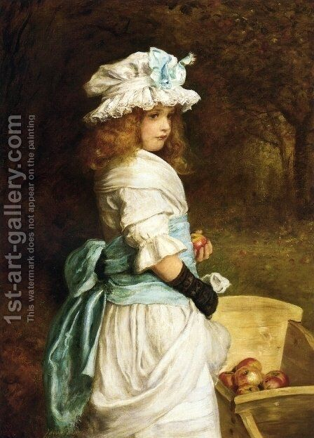 Pomona by Sir John Everett Millais - Reproduction Oil Painting