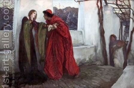 O, Mistress Mine where are you roaming? by Edwin Austin Abbey - Reproduction Oil Painting