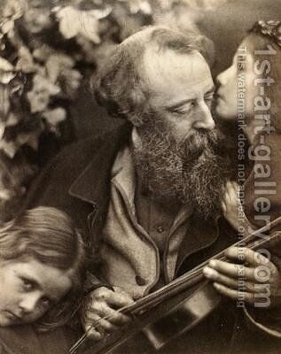 Whisper of the Muse by Julia Margaret Cameron - Reproduction Oil Painting