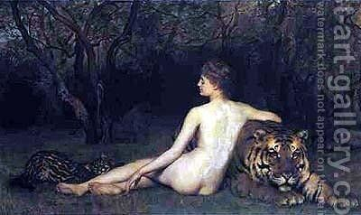 Circe by John Maler Collier - Reproduction Oil Painting