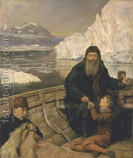 The Last Voyage of Henry Hudson by John Maler Collier - Reproduction Oil Painting