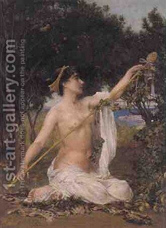 Bacchante by Edith Ridley Corbet - Reproduction Oil Painting