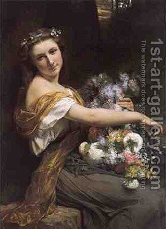 Dionysia by Pierre Auguste Cot - Reproduction Oil Painting