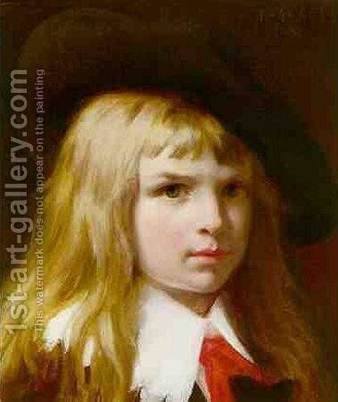 Little Lord Fauntleroy by Pierre Auguste Cot - Reproduction Oil Painting
