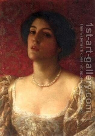 Reverie by Sir Thomas Francis Dicksee - Reproduction Oil Painting
