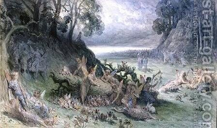 The Fairy Festival by Gustave Dore - Reproduction Oil Painting